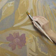 Marat Ka studio. Painting by numbers.