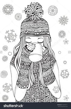 Adult Coloring Book Page Size For And Children