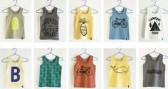 ideas to print on kid's t-shirts/ bobo choses SS 2012