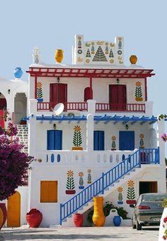 Дом на острове Миконос