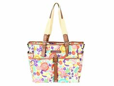 Foldaway Tote - Lily and friends by VIDA VIDA RYgMRM16