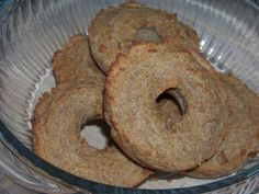 French Toast Bagels ⅓ cups butter, melted   6 eggs   1 tablespoon cinnamon   2 teaspoons vanilla extract   1 teaspoon maple extract   5-10 drops stevia glycerite   ½ teaspoon salt   ½ cup sifted coconut flour   2 teaspoons guar or xanthan gum, optional   ½ teaspoon baking powder