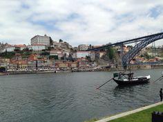 The historical PORTO and VILA NOVA de GAIA in Northern #PORTUGAL ...a place To visit ...
