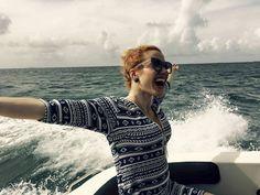 Gabriela Soukalová, teď už Koukalová si užívá na moři na kouzelných líbánkách v jednom z tropických rájů...