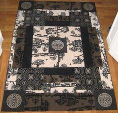 tapis rug carpet patchwork french création  tableau unique descente de lit tapis couloir pure laine wool paris upcycling