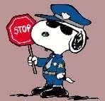 Image result for snoopy as a police officer
