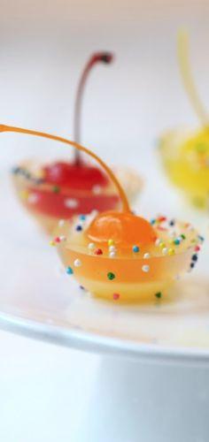 Fancy jello shots!!