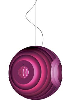 supernova suspension lamp  Design Ferruccio Laviani, 2000  Aluminum or steel, steel supports  Made in Italy by Foscarini