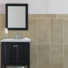 Suspense HON | Garden State Tile Cove Base, Large Format Tile, Household Cleaners, Porcelain Tile, Neutral Colors, Countertops, Mirror, Garden, Interior