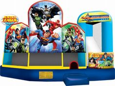 Buy cheap and high-quality Inflatable Justice League 5 In 1 Combo. On this product details page, you can find best and discount Inflatable Bouncers for sale in 365inflatable.com.au