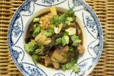 Lemongrass Spiced Pork with Cloud Ear Mushrooms