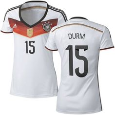 ee22e0d60 Women s Adidas Germany Erik Durm Replica White Home New 4 Stars 2014 World  Cup Soccer Jersey. This is probably happening
