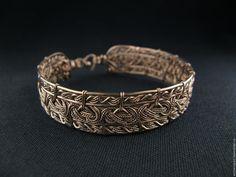 Купить Браслет Вивальди - комбинированный, кружевное украшение, кружевной браслет, изысканное украшение, авторские украшения