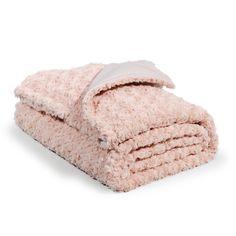 Alfombra de pelos cortos de algod n rosa 160 x 230 cm for Plaid maison du monde