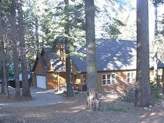 Shaver Lake Cabin Rental: Spacious Lodge In Deep Woods, Multi-family Retreat, Wireless Internet, Play Pool | HomeAway 1260 4 nights 5bed 4 bath christmas