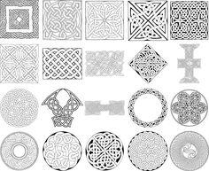 13 Celtic Vector Art Images - Symbol Celtic Harp Clip Art, Celtic ...