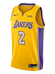 87c5eedc589 Los Angeles Lakers Lonzo Ball Icon Swingman Jersey – Lakers Store Los  Ángeles Lakers, White