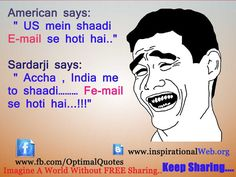 Funny Hindi Jokes Image 2013 LOL | Free SMS Collection Online