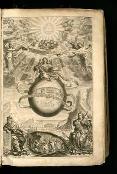 Musurgia universalis,Rome, 1650.Athanasius Kircher.Kircher  was a 17th-century German Jesuit scholar and polymath .  Musurgia Universalis is a combination of a scholarly study of the history of music and musical instruments and an attempt at a scientific explanation of musical harmony and sound theory. Kircher also theorized that the harmony of music reflected the divine proportions of the Universe .