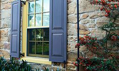 Timberlane Exterior Shutters :: Farm And Stone Houses