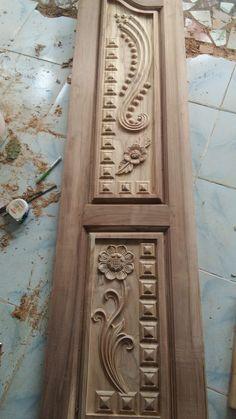 Window Glass Design, Door And Window Design, Wooden Front Door Design, Wood Bed Design, Door Gate Design, Wooden Front Doors, Single Door Design, Double Door Design, Latest Door Designs
