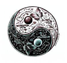 ying yang tattoos | Free Download Yin Yang Tattoo Design Denise A Wells In Tattoo Designs ...