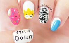 the simpsons nails - Google Search