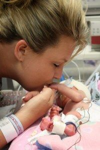 When babies are born early, parents spend a lot of time with them in the NICU.