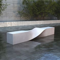 Malik Gallery Collection | S Bench Outdoor Bench