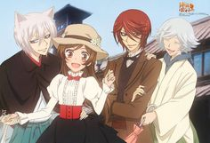 I was just thinking about this and it just appeared on my wall ,awwww this is soo sweet ^_^ Kamisama Kiss