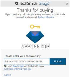 15+ TechSmith SnagIt 12.x Universal License Keys FREE
