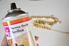 *Use acrylic clear spray paint to coat metal jewelry to prevent discoloration!