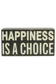 I choose to be happy! No time to be a debi downer! =)