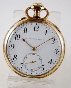Reloj lepine IWC suiza c.1917