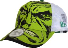 Marvel Avengers New Era Trucker Cap. The Hulk front image 7e892b3305b6