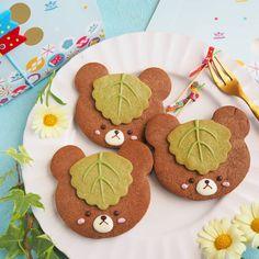 Bear Cookies, Cute Desserts, Cute Food, Gingerbread Cookies, Kids Meals, Cupcakes, Kawaii, Recipes, Foods