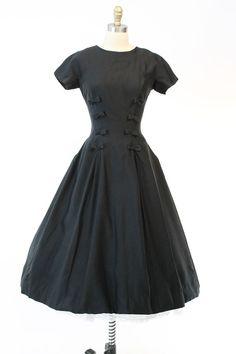 años 50 Suzy Perette vestido pequeño / años 1950 por CrushVintage