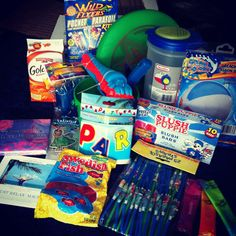 Deployment care package - beach party