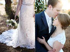 groom kissing bride | Sarah + JJ's Pretty Wedding at 173 Carlyle House | http://www.emmalinebride.com/real-weddings/pretty-wedding-173-carlyle-house/ | photo: Melissa Prosser Photography - Atlanta Georgia Wedding Photographer