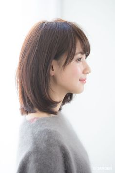 Pin on 髪型 Pin on 髪型 Short Hairstyles For Women, Short Bob Haircuts, Hairstyles With Bangs, Short Hair With Bangs, Girl Short Hair, Medium Hair Styles, Short Hair Styles, Ulzzang Hair, Hair Arrange