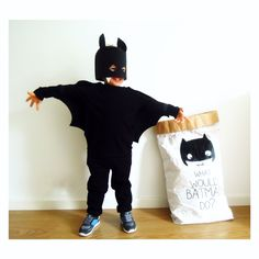 Batman paperbag www.catitaillustrations.com