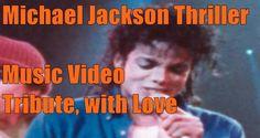 Michael Jackson Thriller Tributo video como homenaje a el conocido cantante pop de musica y bailarin