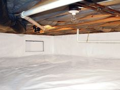 Crawl Space Vapor Barrier by Clementon, Sicklerville, Cherry Hill Shore Points, New Jersey Waterproofers | Crawl Space Moisture Barrier Installation in NJ