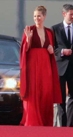 Amy Adams Dress on Golden Globes 2014 Red Carpet | POPSUGAR Fashion