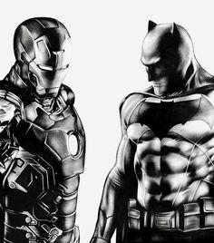 üdv Ben a 6 rajzolója vasember és batman-A2 ceruza rajz 📝✏⚡🆕👌🎨😁 INSTAGRAM /Facebook : 6artalan Editorial