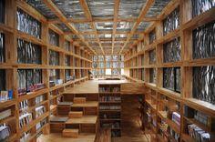 Von Li Xiaodong stammt der Entwurf für die Liyuan Bibliothek (China).