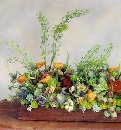 pretty floral centerpiece