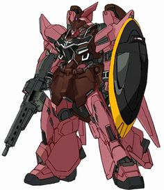 Gelgoog with weapons equipped Model number: ZMGF-1014 Code name: Gelgoog Unit type: general purpose mass production mobile suit Manufacturer: ZAFT (Zodiac Alliance of Freedom Treaty) Operator: ZAFT...