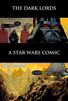A Star Wars Comic #9 - The Dark Lords - A Star Wars Comic