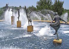 creative water fountains